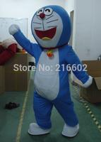Doraemon Mascot costume Adult size Machine cat Mascot costume Free shipping