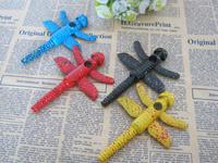 Free shipping dragonfly  shape rasta smoking tobacco pipe