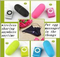 2pcs/lot 20 speeds remote control vibrating egg 5 Color sex vibrators for women +women Sexy Panties T-back Put egg Panties Thong