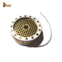 Microphone 34mm Large Diaphragm Condenser Capsule Mylar K67 Project DIY Mic Element Uni-directional Mount Mic DIY Replacement