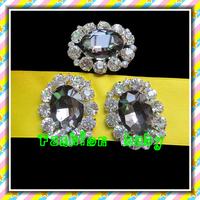 33*42 mm oval rhinestone crystal brooch for wedding decorations