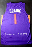 Free Shipping!!!#1 Goran Dragic new material jersey , Embroidered Logo ( all name number stitched!!)