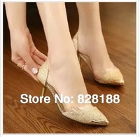 New 2014 Women pumps Good quality Red bottom High heels Sexy shoes Women  Plus size Free shipping shoes