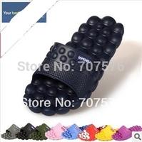 2014 home massage slippers slip-resistant bathroom lovers design sandals slip-resistant plastic slippers indoor