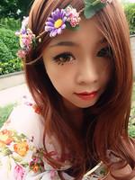 Free shipping mori girl Bohemia vintage daisy flower floral wreath garland headband fairy bride hair rope  photo holiday travel
