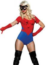 adulto halloween traje para as mulheres, traje menina aranha spiderman(China (Mainland))