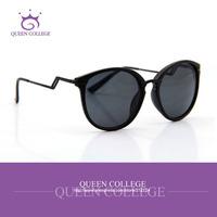 Queen College Wholesale Metal Temple Brand sunglasses women glasses sun sunglass vintage 6colors eyeglasses 20pcs/lot QC0099