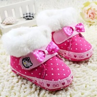 2014 winter cute warm boots  first walkers
