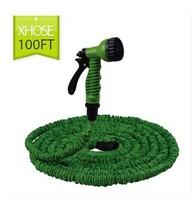 100FT Garden watering kits water pipes with spray gun expandable flexible garden hose Garden hoses & Reels with sprayer
