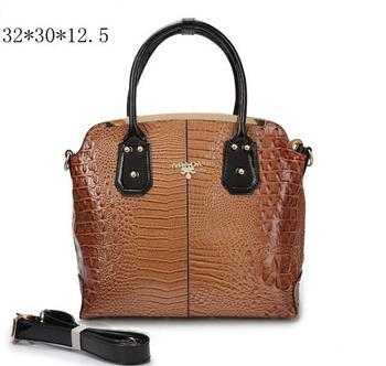 Оптовая 2014 Новое прибытие Мода женщин кожаная Пардо сумки Женщины Дизайн Ladies Prado Сумки Женщины сумка Bolsas