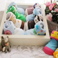 2015 NEW ! Newborn Baby Cotton Socks/Kid's Child Anti-Slip Soles Sock/Three-Dimensional/Cartoon/Spring Autumn