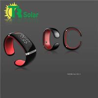 Bluetooth smart watch LED  bracelet Vibrating Metal Mini Caller ID Mobile Phone Vibration Function Digital Display free shipping