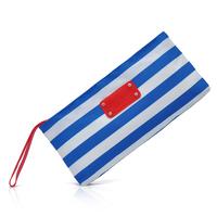 HB570  OO Sport Natural Swedish Blue White Navy portfard stripy beach Cosmetic Bag Drop shipping Wholesale Free Shipping