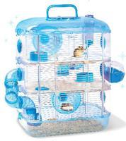 Super large hamster cage hamster cage hamster crystal luxury bathroom pipeline