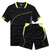 Summer men's brand sportswear. Free shipping men polyester sports T-shirt and shorts.