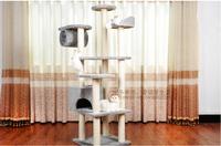 best quality cat climbing frame cat litter cat rack silver grey cat tree