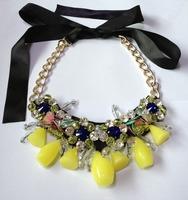 2014 New Arrival fashion bib vintage costume choker chunky marni Necklace statement jewelry necklaces & pendants wholesale #677