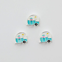 2014 New Arrival Camper Floating Charms for 30mm Locket 20 pieces/lot F481