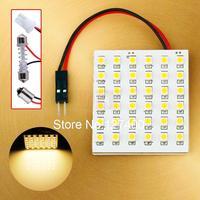 36 SMD Auto Warm White Panel Bright T10 W5W BA9S T4W Festoon C5W Dome LED Bulb Lamp interior lighting car light source
