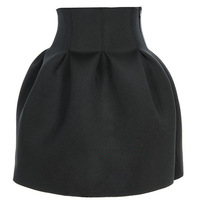 3Colors New 2014 Spring Summer Fashion Black/Red/Pink Free Shipping Sexy Mini Ball Gown Skirt With Zipper For Women Girl 497701