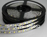 Wholesale white warm white RGB 60LED/meter 300LED Waterproof SMD5050 Flexible rgb led strip with mini ontroller
