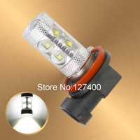 Cree LED H11 60W DRL White Lamp car Fog Head Bulb auto Vehicles parking Turn Signal Reverse Tail Lights car light source