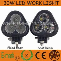 Cheap shipping !!!30WLED Work Light led driving light offroad Truck Mini Boat led bar led fog lamp12v spotlight, auto led light