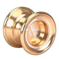 Free shipping YoYo N6  Gloden Aluminum Professional Alloy YoYo Ball (Assorted Colors)