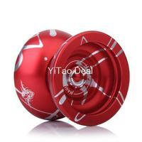Free shipping 2014 NEW Version Magic YOYO N11 Alloy Aluminum Professional Yo-Yo YoYo Toy Black With Golden