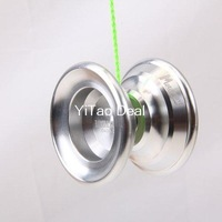 Free shipping 2014 NEW Version YoYo N6 Silver Aluminum Professional Alloy YoYo Ball (Assorted Colors)