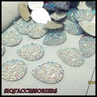 2014 new High Quality White AB DIY Accessories adornment  Flashing Rhinestone button/Wedding decoration Diamond.bling bling