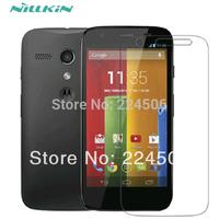 3pcs Nillkin HD Clear Anti-Scratch Guard Film Sreen protector For Motorola Moto G XT1032 XT1031 Free Shipping