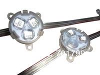 20pcs DC12 WS2821A pixel module with transparent coverand lens;3pcs 5050 led inside;0.72W;30mm diameter