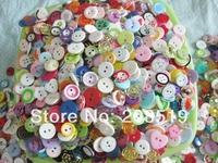 colorful buttons 150pcs randomly sizes/colors DIY decorative button mixed