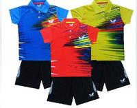 NEW butterfly Free shipping 1set uu968 fashion Child boy / girl Badminton / chirdren Table tennis Shirt +shorts