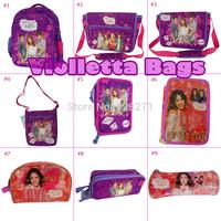 FreeShip Violetta Children School Bags for Girls Boys All Kinds of Violetta Bags Supply Mochilas Infantil Kids Cartoon Rucksack