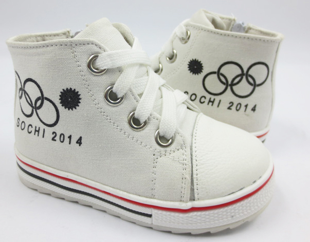 free shipping light-weight shoes children Sneakers Sochi Olympics Rings Flourishing Snow Tops Sport shoes WAB2014-49(China (Mainland))