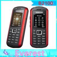 Original unlocked Samsung B2100 waterproof IP54 B2100 Xplorer cell phones unlocked russian language