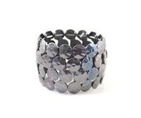 BigBing Fashion jewelry  fashion accessories quality black purple color elastic bangle  J785