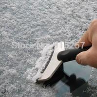 Auto supplies car snow shovel snowboard stainless steel snow shovel ice scraper snow brush