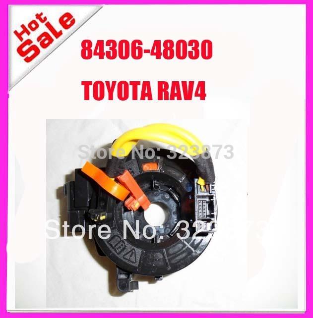 Clock Spring Airbag Spiral Cable Sub-Assy Airbag 84306-48030 84306-06140 for Toyota Avalon, Toyota Tundra,Tacoma,Rav4,Avalon(China (Mainland))