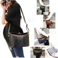 2014 Fashion women retro handbag PU leather fashion one shoulder cross-body messenger bag vintage tote bucket mulheres bolsa