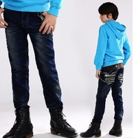 In the summer of 2014 cuhk children pants cowboy boys pants for boys in blue jeans pants