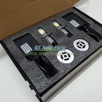 1Set US Universal Car/Truck 50W CREE CXA1512 3600LM H4 Hi/Lo Beam LED Headlight Auto H13 9008 9004 9007 HB1 HB5 LED Headlamp