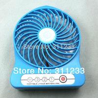 USB Fan Strong Wind Fan Speed 4.2M/Second Lithium Battery Fan 2200mAH Portable Fans Working Time 7.5 Hours