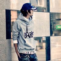 Hot Sale New Regular free Shipping 2014 Autumn And Winter Hot-selling Male Sweatshirts Street Slim Sweatshirt Hooded Sportswear
