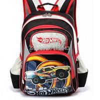 Brand 2014 mochila escolar School Bag for Boys Fashion Car Cartoon Printing Primary School Middle Children School Backpacks Kids