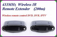 200M 2.4G Wireless IR Remote Extender Repeater Infrared Transmit PAT433 Home Audio Video Transceiver system
