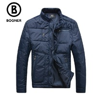 free shipping Bognr wadded jacket cotton-padded jacket men's clothing 2013 outerwear male casual thermal fashion
