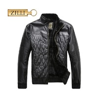 Zilli leather clothing outerwear men's clothing 2013 purchasing agent of special counter thick commercial fashion